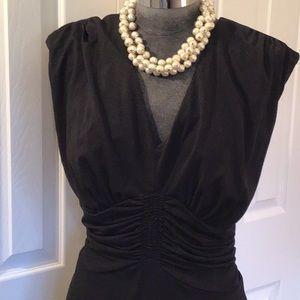 AA Studio classic Black Dress Sz 16 W